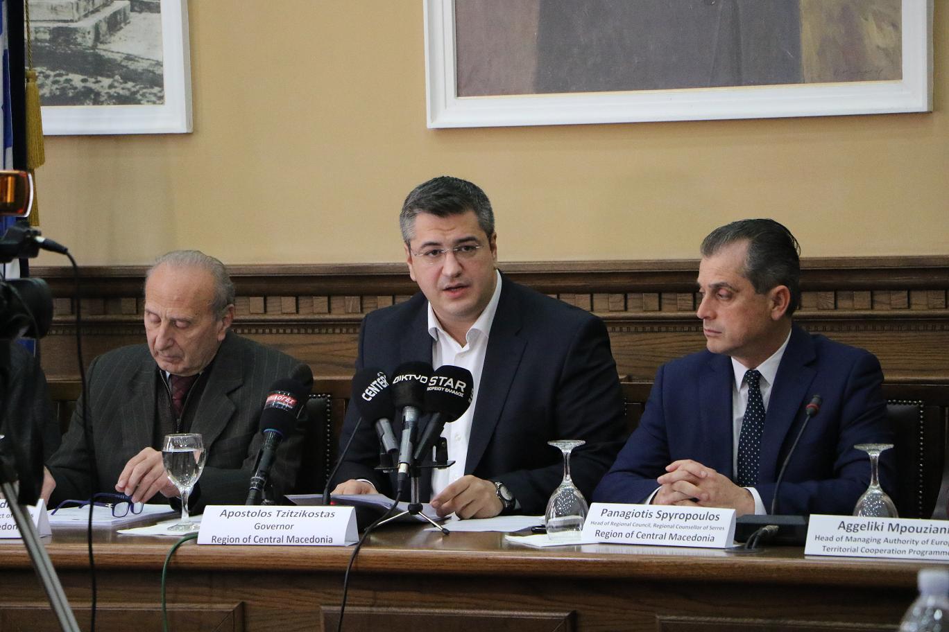 11,5 εκατομμύρια € για την αντιπλημμυρική θωράκιση των Σερρών από το Interreg Ελλάδα – Βουλγαρία