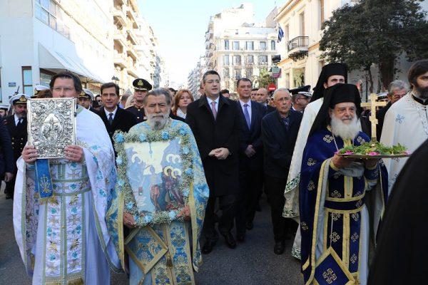 Θεοφάνεια στη Θεσσαλονίκη 1