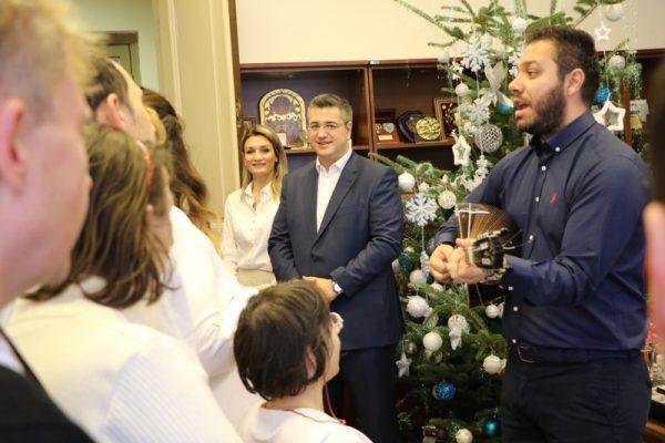 Κάλαντα Χριστουγέννων στην Περιφέρεια Κεντρικής Μακεδονίας 5